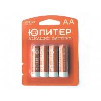 Батарейка AA LR6 1,5V alkaline 4шт. ЮПИТЕР