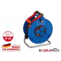Удлинитель на катушке 50м (3 роз., 3.3кВт, резин. кабель, с/з) Brennenstuhl Garant (3,3кВт; 3х1,5мм2; степень защиты: IP44)
