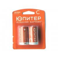 Батарейка C LR14 1,5V alkaline 2шт. ЮПИТЕР