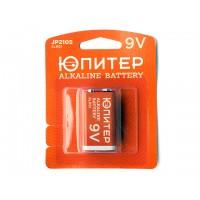 Батарейка 6LR61 9V alkaline 1шт. ЮПИТЕР (крона)