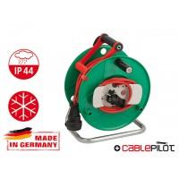 Удлинитель на катушке 40м (1 роз., 3.3кВт, кабель до -35С, с/з) Brennenstuhl Garant (3,3кВт; 3х1,5мм2; степень защиты: IP44; для сада)