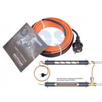 Греющий саморегулир. кабель в трубу 10HTM2-CT (4м/40Вт) (комплект) REXANT (Греющий саморегулирующийся кабель (комплект в трубу) 10HTM2-CT ( 4м/40Вт) R