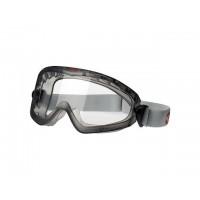 Очки закрытые 3М 2890A прозрачные Ацетатное стекло (Очки закрытые с эластичной лентой оголовья, непрямая вентиляция, ацетатная линза) (3M)