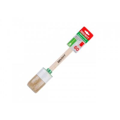 Кисть круглая №18-60мм ВОЛАТ (малярная для ЛКМ на масляной основе, густых лаков, олифы, эмалей)