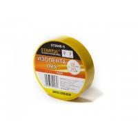 Изолента ПВХ 18ммх20м желтая STARTUL PROFI (ST9046-5) (130 мкм)