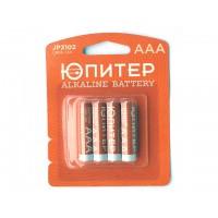 Батарейка AAA LR03 1,5V alkaline 4шт. ЮПИТЕР