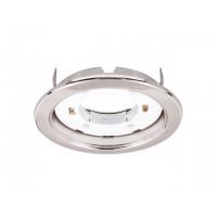 Светильник светодиодный встраиваемый 6-15 Вт PGX53 IP20 230В (глянц. никель) JAZZWAY (106*39мм)