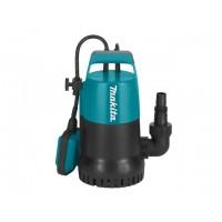 Насос погружной для чистой воды MAKITA PF 0300 (300 Вт, 8400 л/ч, до 5 м, пластм. корпус)