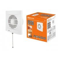 Вентилятор бытовой настенный 100 СВ, с выключателем, TDM