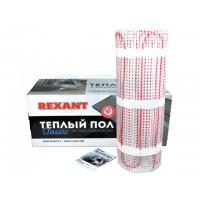 Теплый пол (нагревательный мат) REXANT Classic RNX-10,0-1500 (площадь 10,0 м2 (0,5 х 20,0 м)), 1500