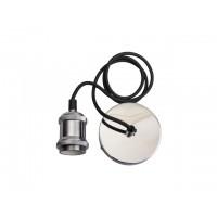 Светильник декоративный RETRO PLC 01 E27 230V/1M ELECTROSILVERING (патрон с проводом) JAZZWAY (, нейтральный белый свет)