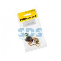 Выключатель для настенного светильника c деревянным наконечником <Gold> индивидуальная упаковка 1 шт (REXANT)